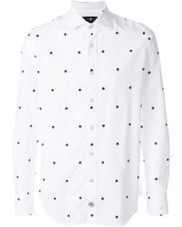 Hydrogen - Skull Printed Shirt - Lyst