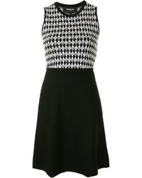 Paule Ka - ダイヤモンドパターン ドレス - Lyst