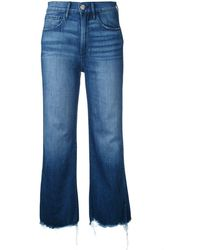 3x1 - Cropped Flared Jeans - Lyst