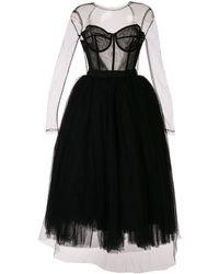 Dolce & Gabbana - Платье Из Тюля - Lyst