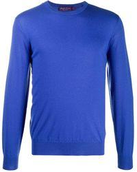 Ralph Lauren Purple Label カシミア セーター - ブルー