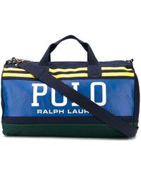 Ralph Lauren Big Polo Duffle Bag - Blue
