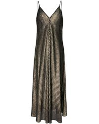 Forte Forte Платье Макси My Dress - Металлик