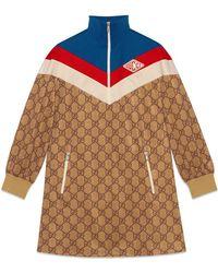 Gucci - GG Technical Jersey Dress - Lyst
