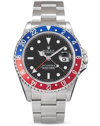 Rolex Наручные Часы Gmt-master Ii Pre-owned 40 Мм 2006-го Года - Черный