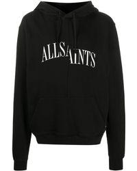 AllSaints Dropout パーカー - ブラック