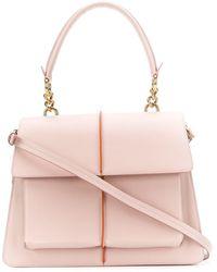 Marni Large Attache Tote - Pink