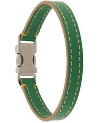 Marni Contrast Stitch Bracelet Band - Green