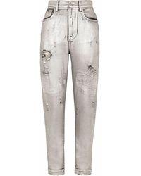 Dolce & Gabbana Denim Jeans - Metallic
