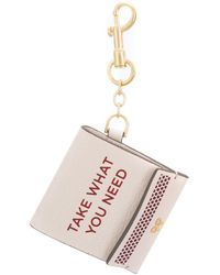 Anya Hindmarch Match Case Keyring - Multicolor
