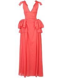 Rosie Assoulin - Maxi Ruffle Dress - Lyst
