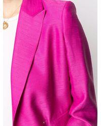 Roseanna Lotus Tempo Shantung-fabric Blazer - Pink
