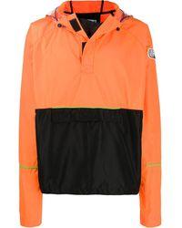 Les Hommes - Colour-block Hooded Jacket - Lyst