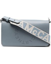 Stella McCartney Мини-сумка Через Плечо Stella Logo - Синий