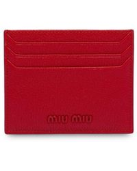 Miu Miu - マドラス カードケース - Lyst