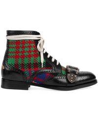 Gucci Ботинки 'queercore' - Черный