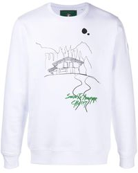 Societe Anonyme グラフィック スウェットシャツ - ホワイト