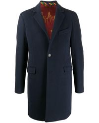 Etro シングルコート - ブルー