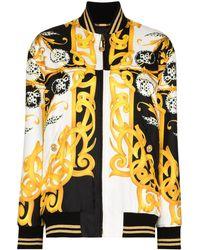 Versace - Barocco-print Bomber Jacket - Lyst
