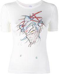 Adam Selman - 'logo Baby' Print T-shirt - Lyst