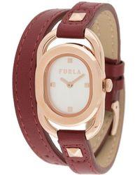 Furla Studs 腕時計 - レッド