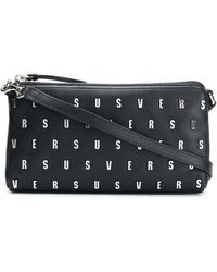 Versus - Logo Studded Clutch Bag - Lyst