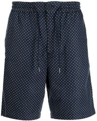 Michael Kors Shorts con stampa - Blu
