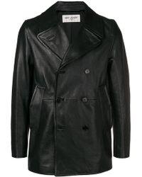 Saint Laurent - Classic Calf-leather Jacket - Lyst