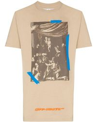 Off-White c/o Virgil Abloh - X Browns 50 Caravaggio Tシャツ - Lyst