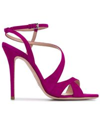 Sebastian Sandales à design à brides - Violet