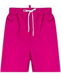 DSquared² Плавки С Логотипом - Розовый