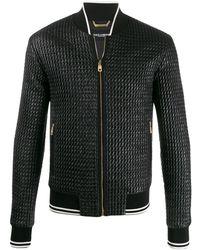 Dolce & Gabbana - キルティング ボンバージャケット - Lyst