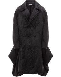 JW Anderson オーバーサイズ パデッドコート - ブルー