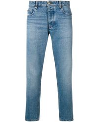 AMI Carrot Fit 5 Pockets Jeans - Blue