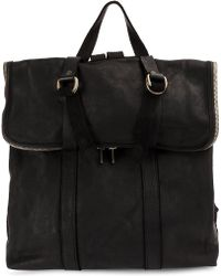 Guidi - Foldover Top Backpack - Lyst