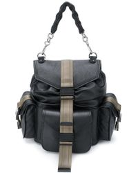 DIESEL - Miss-match Backpack - Lyst