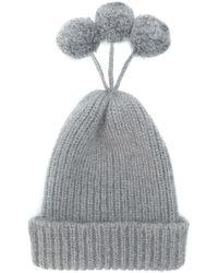 Thom Browne - Cashmere Blend Pom-pom Hat - Lyst
