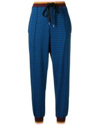 Marni - High Rise Tapered Trousers - Lyst