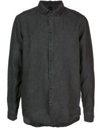 Poeme Bohemien Long Sleeved Shirt - Gray