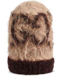 Gucci Шапка Бини С Логотипом GG - Коричневый