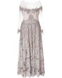 Olvi ́S - Off-shoulder Dress Gown - Lyst