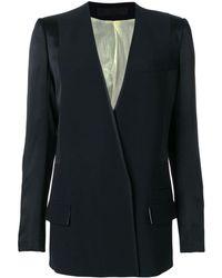Haider Ackermann Long blazer jacket - Schwarz