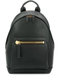 Tom Ford Classic Zipped Backpack - Black