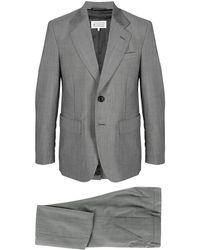 Maison Margiela Костюм С Однобортным Пиджаком - Серый