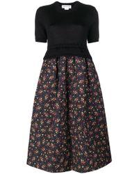 Comme des Garçons - Floral Print Dress - Lyst
