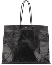 MEDEA Large Shopping Tote Bag - Black