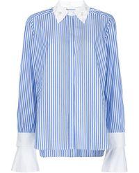 MUVEIL - Embellished Collar Shirt - Lyst