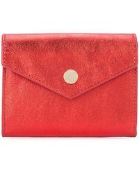 Anine Bing Envelope Card Holder - Red