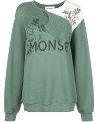 Monse ロゴ スウェットシャツ - グリーン