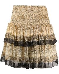 Mes Demoiselles Shibou ティアード スカート - マルチカラー